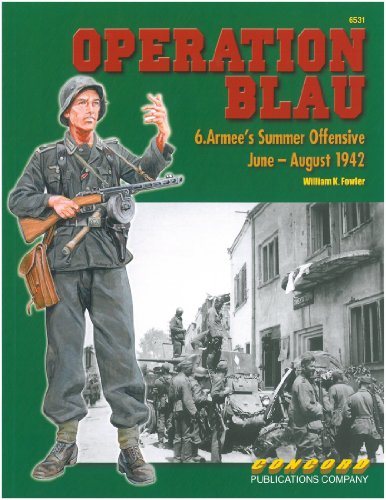 Concord Publications Operation Blau: 6.Armee's Summer Offens
