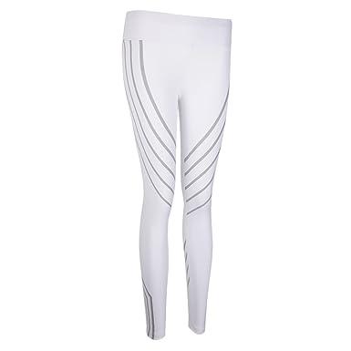 Homyl Pantalones de Rayas Diseño Gimnasio Diario Yoga ...