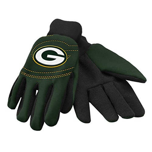 NFL Green Bay Packers 2014 Raised Logo Gloves