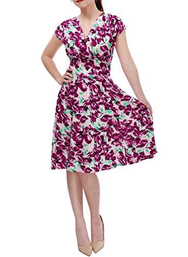 Miusol Womens Floral Sleeveless Summer