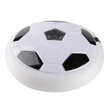 Amazon.com: Bola flotante de fútbol con disco de luz LED de ...