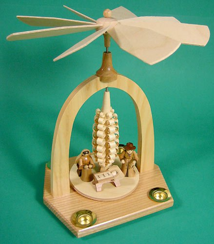 Dregano Nativity Christmas Pyramid Made in Germany by Dregano (Image #3)