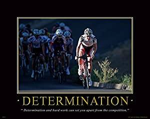 Amazon Com Bicycle Motivational Poster Art Print Mountain