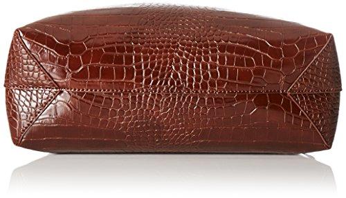 Trussardi Jeans Aspen Borsa Tote, 48 cm, Marrone