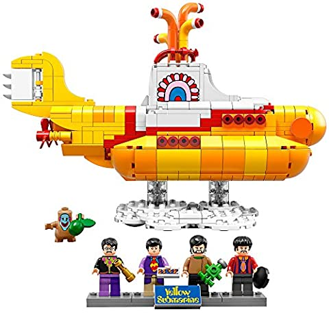 LEGO Ideas 21306 Yellow Submarine Building Kit (Beatles Gifts For Kids)