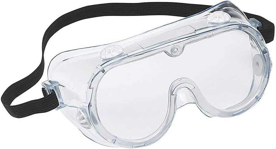 Gecheer Safety Glasses Protection Goggle Face Shield Safety Glasses Anti Fog Lab Goggles Adjustable Eyewear Eye Protectors from Flying Particles Liquid Splatter Dust Wind Chemical Fumes Splash