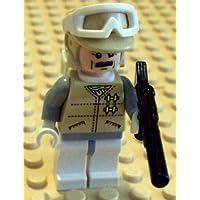 Lego Star Wars Minifigure: Oficial de Hoth con mochila y Blaster