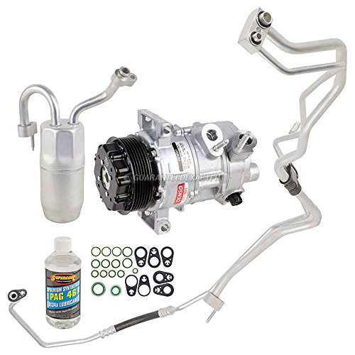 OEM AC Compressor w/A/C Repair Kit For Dodge Caliber & Jeep Patriot Compass - BuyAutoParts 60-81562RN NEW ()