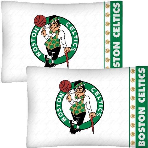NBA Boston Celtics Basketball Set of Two Pillowcases by NBA