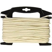 SecureLine by Lehigh CCL6100-4W 3/16-Inch x 100-Feet Cotton Clothesline Winder