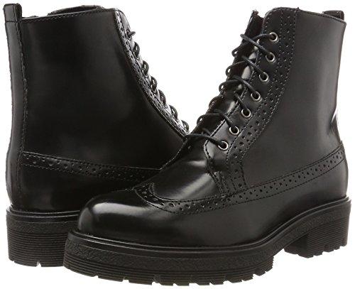 Mujer Xhqgaa Negro Militar Tamaris Botas Black Para 25701 B6H1qw