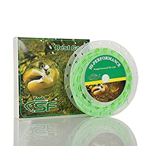 SF Weight Forward Floating Fly Fishing Line Welded Loop 100 FT WF 1 2 3 4 5 6 7 8 9 wt F