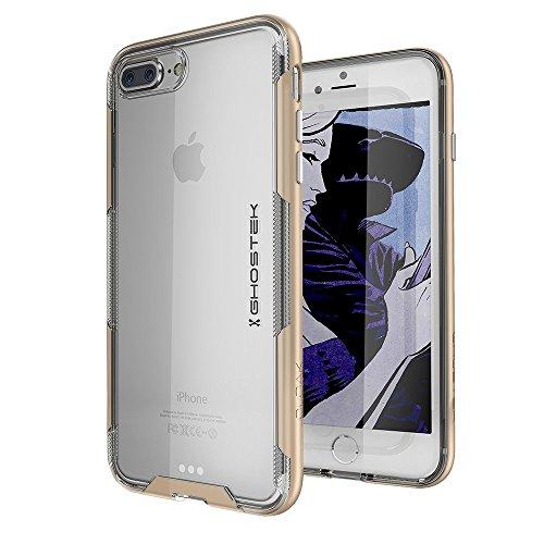 Ghostek Cloak Transparent Bumper Case Compatible with iPhone 8 Plus & iPhone 7 Plus - Gold