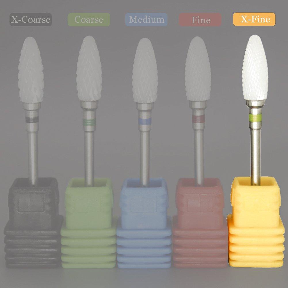 Amazon.com : Ceramic Nail Drill Bit, River Lake Professional USA ...