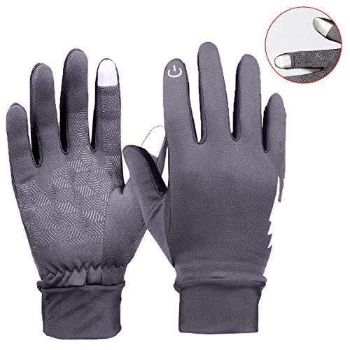 Winter Gloves - YooNow Touch Screen Gloves Windproof Anti-Slip Thermal Warm Smartphone Gloves Design for Texting Driving Running Cycling Outdoors Fits Men and Women