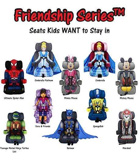 KidsEmbrace Dora Booster Car Seat Nickelodeon Combination 5 Point Harness Purple