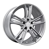 DAI Alloys Razor Wheels (Painted/Silver), 18*8, 5/114.3, ET 45mm