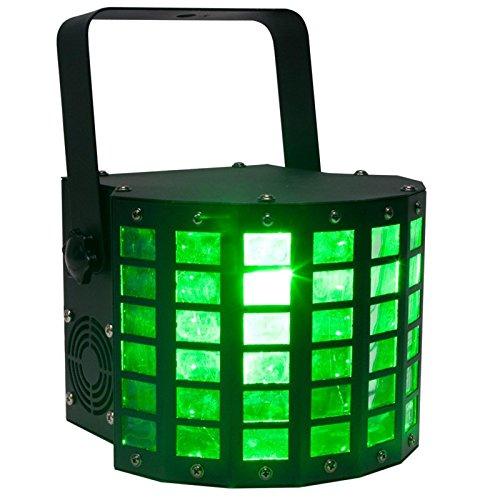 (American DJ Mini Dekker DMX RGBW LED Strobe Kinta Derby Moonflower Light Effect)