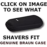 Braun Shaver Travel & Storage Case for Series 3, 5 & 7 shavers. Click next page to see models that will fit. YOU MUST HAVE ONE OF THE TYPE NUMBERS MENTIONED. DO NOT RELY ON YOUR MODEL ALONE