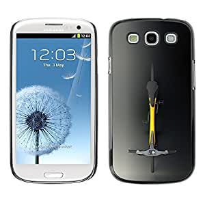 Design for Girls Plastic Cover Case FOR Samsung Galaxy S3 Minimalist Hipster Bicycle OBBA