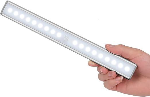 Y LOVE Schranklicht,18 LED Wandlicht Bewegungsmelder mit Sensor,USB Wiederaufladbar,tragbares Licht,Nachtlicht,ohne Kabel,magnetisch