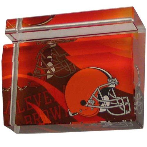 NFL Cleveland Browns Crystal Business Cardholder