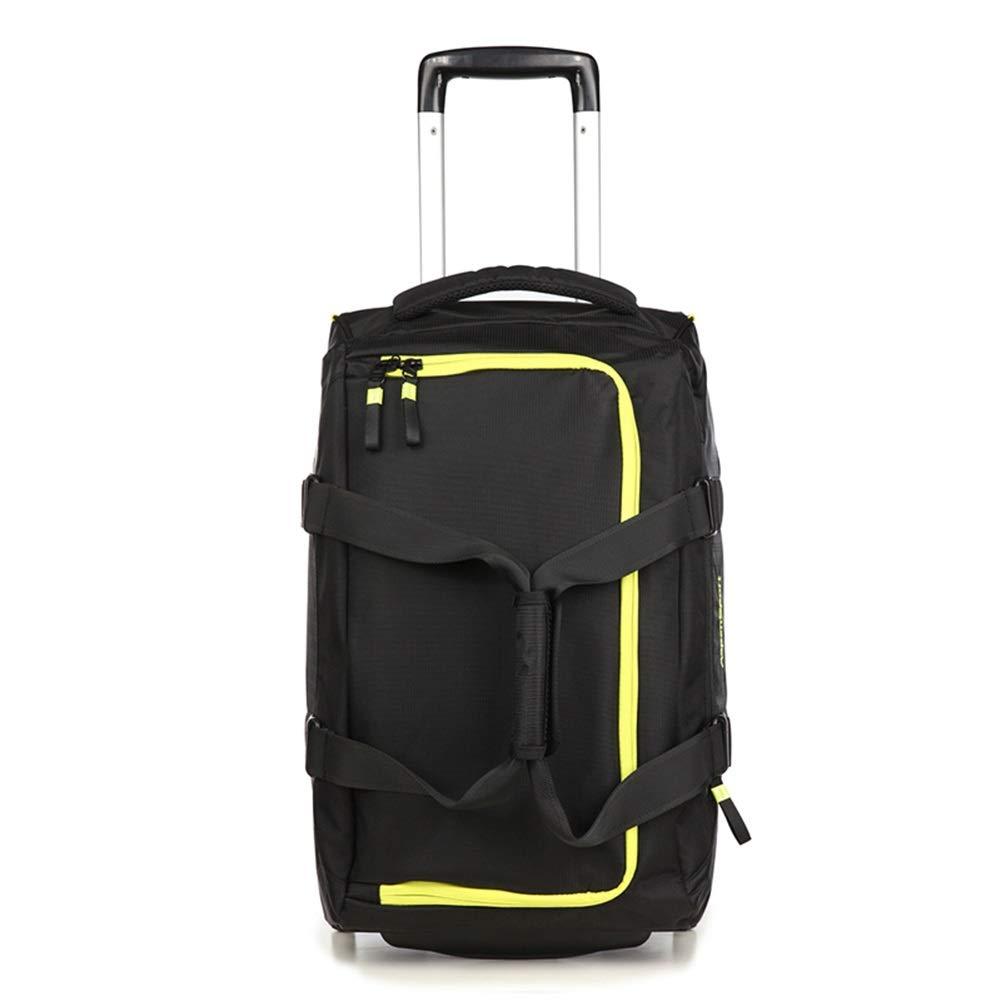 トロリースーツケースキャビンハンド荷物を運ぶ旅行キャビンハンド荷物ラップトップバッグエグゼクティブビジネスバッグトロリースーツケースを持ち歩く旅行多機能レジャースポーツ男性女性 GAOFENG (色 : イエロー いえろ゜, サイズ さいず : 20 inches) 20 inches イエロー いえろ゜ B07P8SSPLH