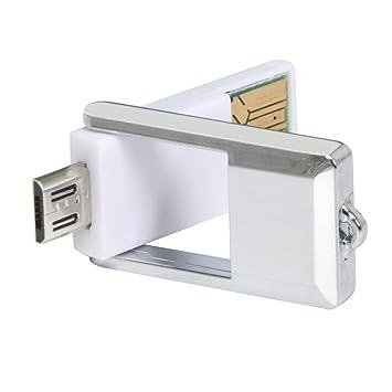 TRIXES Lector de Tarjetas Micro SD con USB para Ordenador y ...