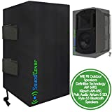 TWO Sun Dust & Water Resistant Speaker Covers Bags for Definitive Technology AW 6500, Klipsch AW-650, Polk Audio 8 SDI and Pyle 6.5 Outdoor Bluetooth Speakers by SoundCover