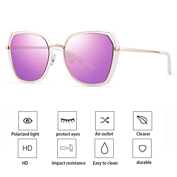 ZllSports Gafas de Sol con Gafas de Sol polarizadas para ...