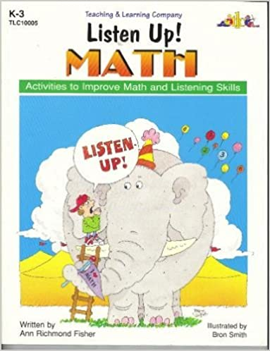 Book Listen Up! Math; Activities to Improve Math and Listening Skills (Listen Up! Series)