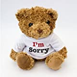 "NEW ""I Am Sorry"" Teddy Bear - Cute And Cuddly - Sorry Gift Present"