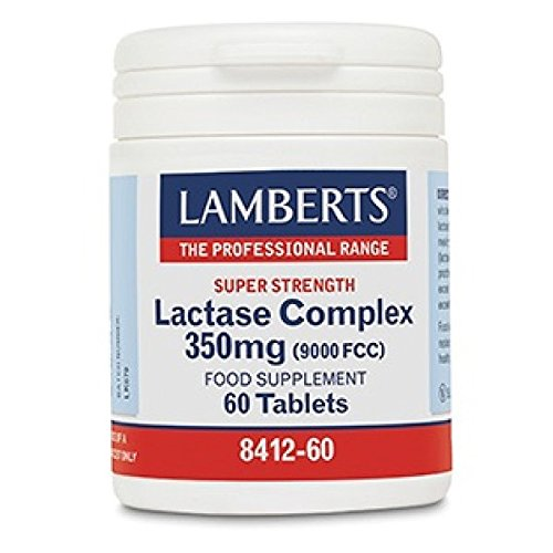 Lamberts Super Strength Lactase Complex 350mg 60 Tablets by Lamberts Healthcare Ltd