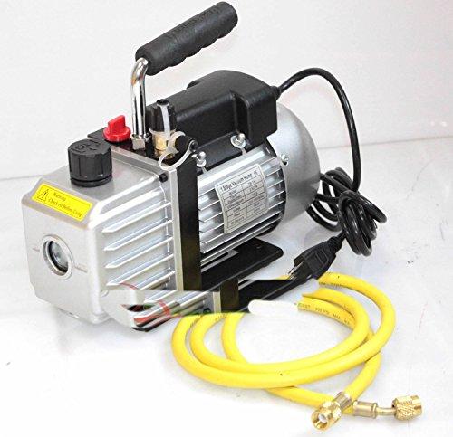 R12 Air (2.5cfm Ac A/c Electric Rotary Vane Deep Air Vacuum Pump For R134a & R12/r22 New)