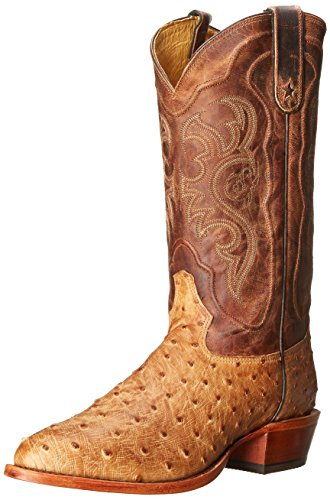 Ostrich Cowboy Boots - 5