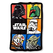 Jay Franco Star Wars Classic Grid Blanket