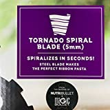 Veggie Bullet Tornado Spiral 5mm Ribbon Spiralizer