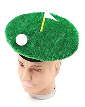 Golfer Pub Golf Fancy Dress Hat - One Size  Amazon.co.uk  Toys   Games 3cf3d628f4f3