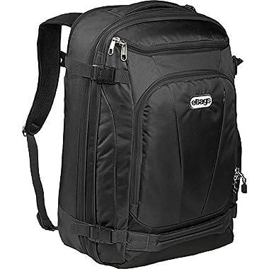 eBags TLS Mother Lode Weekender Convertible (Solid Black)