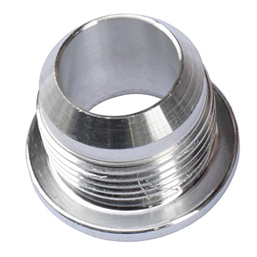 - Gallop 16AN Weld On Fitting Billet Aluminium Fabrication Male Bung Hose Adapter for Fuel Oi Coolant, Air Oil Pan, Oil Return Tank, Radiator