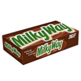 MILKY WAY Milk Chocolate Singles Size Candy Bars 1.84-Ounce 36-Count Box