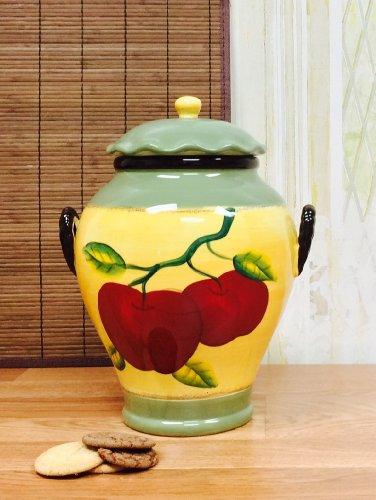 Tuscan Apple on Branch Cookie Jar, 85376 12-1/2