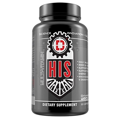 HIS: Daily essential multivitamin with probiotics formulated for Men