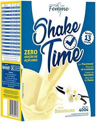 Shake Time Baunilha, Apisnutri