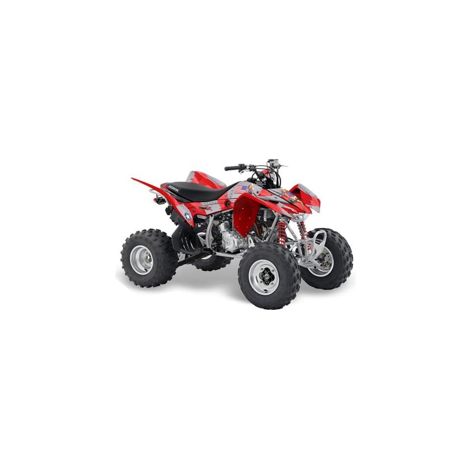 AMR Racing Honda TRX 400EX 2008 2011 ATV Quad Graphic Kit   T Bomber Red