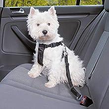 TRIXIE Arnés con cinturón de Seguridad, XS, 20-50 cm, Perro