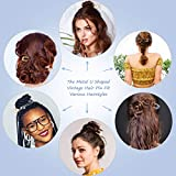 8 Pieces U-Shaped Hairpin French Style Hair Stick