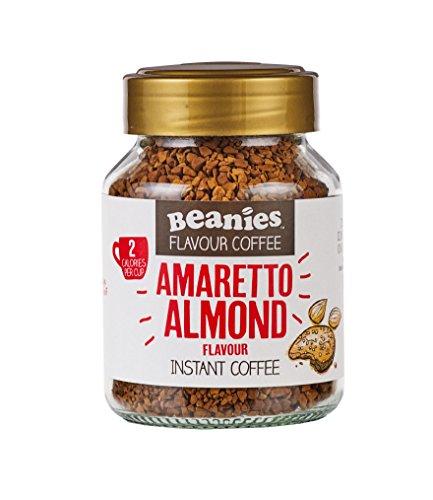 Beanies 1 Amaretto Almond Flavour Instant Coffee, 50G
