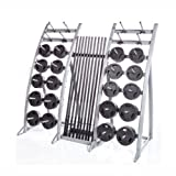 Troy Barbell Tls-Pac Light Workout Club Pack (20 Weight Sets & Display Rack), One Size