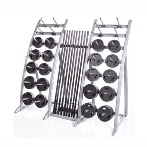 Troy Barbell Tls-Pac Light Workout Club Pack (20 Weight Sets & Display Rack), One Size by Troy Barbell